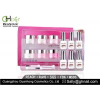 Cheap Crack / Chip Resistant Acrylic Nail Dip Kit French Manicure Environment Friendly for sale