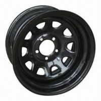 Cheap 15 x 6 SUV Steel Wheel Rims, Trailer Tires, Made in China for sale