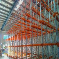 Cheap Heavy Duty Drive In Racking System Space Saving Corrosion Protection For Warehouse for sale