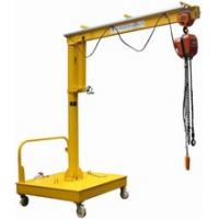Cheap Movable Motorized Rotation Wall Mount Jib Crane For Control / Position A Load for sale
