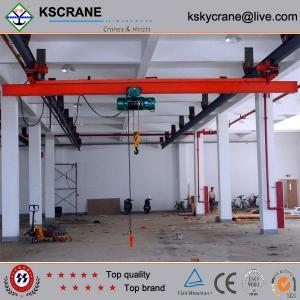 Cheap China Made LX Model Bridge Crane On Rail for sale