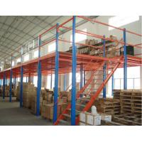 Cheap Multi Floor Mezzanine Storage Platform , Steel Platform Construction Wind Resistance for sale