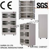 Cheap CE SGS Customized Dehumidifier Electronic Dry Cabinet , RH Range 1 - 10% For audiovisual, precise instruments, food for sale