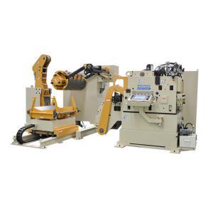 Cheap RUIHUI MAC4-800F Steel Stock Decoiler Straightener Feeder 3 in 1 Machine for sale