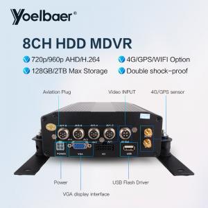 Cheap 720P HDD Mobile DVR 3g Gps H.264 4CH Car Mobile DVR FHD DVR Video Recorder for sale