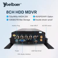 Cheap High Stable 8ch DVR AHD 720P 4G GPS Tracking On Mobile Phone Computer APP for sale