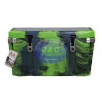 Cheap Camo Color Rotational Molded Cooler , Rotary Plastic Moulding Insulated Boxes for sale