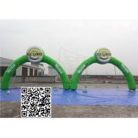 Cheap Green Sealed Air Inflatable Advertising Man Commercial Party Promotional Inflatable Arch Door for sale