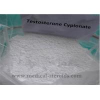 Quality CAS 58-20-8 Muscle Mass Steroid Powders Testosterone Cypionate 99% Assay wholesale
