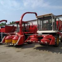 Cheap Diesel Second Hand Maize Combine Harvester 140hp Power 240cm Working Width for sale