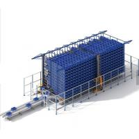 Cheap Automatic Logistic ASRS Racking System Large Capacity With High Racks Equipment for sale