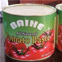 Cheap Sour Flavor and Can (Tinned) Packaging tomato puree brands tomato paste 3000g canned tomato ketchup sauce for sale