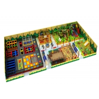 Buy cheap Large 48mm Kids Indoor Playground Equipment With Trampoline Many Games from wholesalers