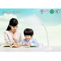Cheap White color 5W rechargeable led study table lamp with two color temperature for sale