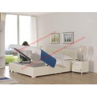 China Pure White painting bedroom furniture set by storage bedstead in fashion Apartment design from italy on sale