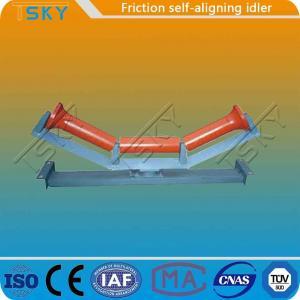 Cheap JIS Standard Rubber Steel Friction Self Aligning Idler for sale