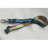 Cheap Soft Ribbon Material Promotional Printing Satin Lanyard With Custom Logo for sale
