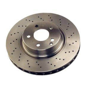 Cheap G3000 Car Brake System Cast Iron Brake Disc For Toyota Landcruiser 43512-35210 for sale