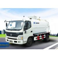 Cheap Sanitation Truck, Food waste collection trucks XZJ5070TCA for the food waste from hotel, restaurant and dining hall for sale