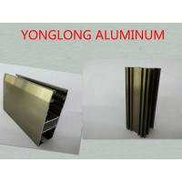 Cheap Oxidizing Champagne Anodized Aluminum Profiles For Decoration / Industrial for sale
