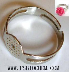 China Finger Ring Base, Ring Findings, Adjustable Finger Ring Base on sale