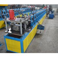 C Stud Roll Forming Machine With High Speed 20 Meters Per Minutes Controlled by PLC Manufactures