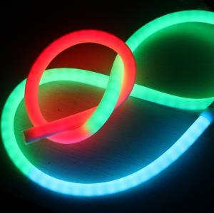 Cheap Ultra Thin 24v 360 Degree Mini Led Neon Flex Ip65 Tube Rope Rgb Dmx Lighting For Rooms for sale