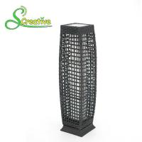 Cheap Pathway Decorative Rattan Solar Garden Lights LED Solar Panel Outside Waterproof for sale