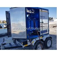 Cheap Easily-Movable Trailer Transformer Oil Purifier,outdoor mobile insulating oil purification plant with shelter,dewatering for sale