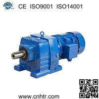 Cheap Foot mounted similar to SEW R series inline helical gear motor speed reducer for sale