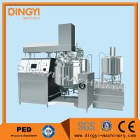 Cheap Hydraulic Lifting Vacuum Emulsifying Mixer 750L Capacity SUS304 For Lotion for sale