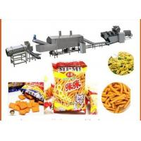 Cheap stainless steel Automatic  wheat Flour Fried Snacks  production Machines for sale