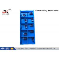 Buy cheap Nano Coating Tungsten Carbide Inserts APMT1135 - H2 HRC55 Hard Material from wholesalers