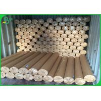 Cheap 50gsm - 80gsm Plotter Paper Roll Soft Smoothy Wood Pulp Material White Color for sale