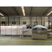 Cheap 2000pcs/h Two Color  Ice Cream Cone Making Machine for sale
