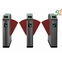 Buy cheap Remote Control Flap Barrier Gate RFID Electronic Pedestrian Turnstiles from wholesalers