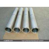 China Stainless steel Gas liquid separator Cartridge Filter Element for solid / liquid removing on sale