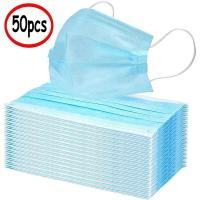 Cheap Disposable Surgical Face Mask Elastic Earloop Style With Low Breath Resistance for sale