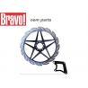 Buy cheap Honda Titan Motorcycle Parts Motorcycle Brake Rotors / Discs Sample Avaliable from wholesalers
