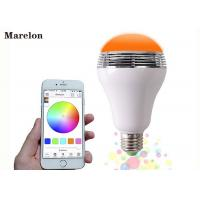 Wireless Color Changing LED Lamp Speaker D80*H135 Mm With Remote Controller