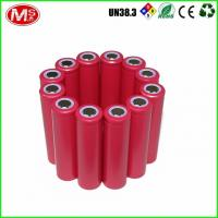 Cheap 3.7 Volt Li Ion 18500 Cylindrical Rechargeable Battery High Rate Capability for sale