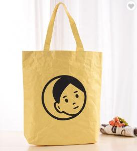Cheap CMYK Color Recyclable Tyvek Washable Paper Bag for sale