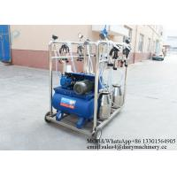 Buy cheap 550l/Min Vacuum Pump Capacity Goat Milking Machine , Cow Milking Equipment from wholesalers