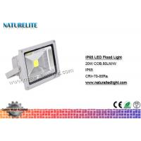IP65 Led Flood Light White , High Power Led Flood Lights Outdoor 20W  Corrosion Resistant  Silicone Gaskets Manufactures