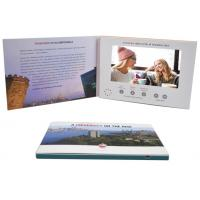 Cheap Promo Advertising A5 7'' Digital Catalogue Card Lcd Screen Video Greeting Brochure For Wedding Invitation for sale