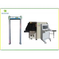 Quality Stadium Security X Ray Baggage Inspection System JC6040 For Bomb / Knife wholesale