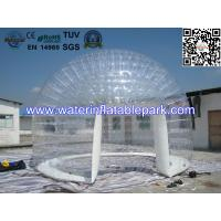Buy cheap 0.8mm Transparent PVC Inflatable Bubble Tent / Airtight Clear Dome Tent For from wholesalers