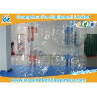 Serurity Guarantee Inflatable Bubble Ball For Humans Body Knock , Park