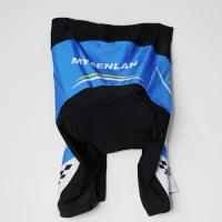 Cheap 90% Nylon 10% Spandex Road Cycling Shorts With Custom Sublimation Printing for sale