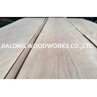 Buy cheap Crown Cut Sliced Cherry Wood Veneer Sheets For Interior Decoration from wholesalers